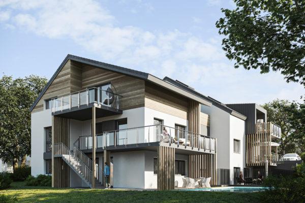 sarbery.realestate GmbH errichtet Wohnhaus für fünf Familien am Mattsee in Österreich